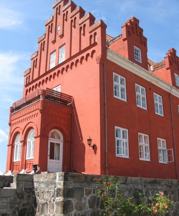 slotbyen tranekær gavlen på Tranekær Slot
