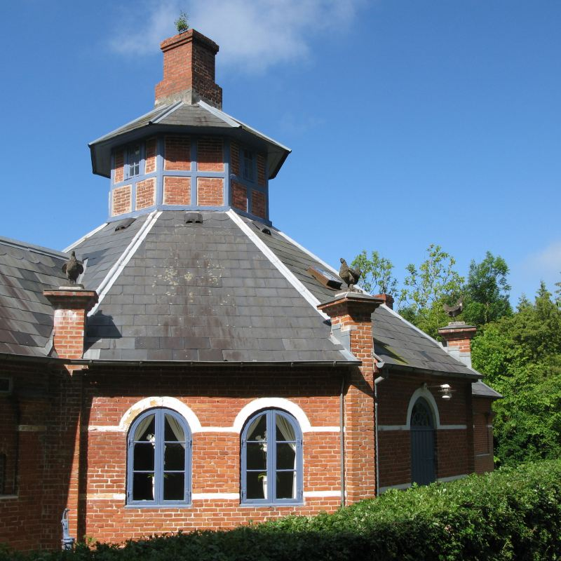 slotsbyen tranekær hønsehuset