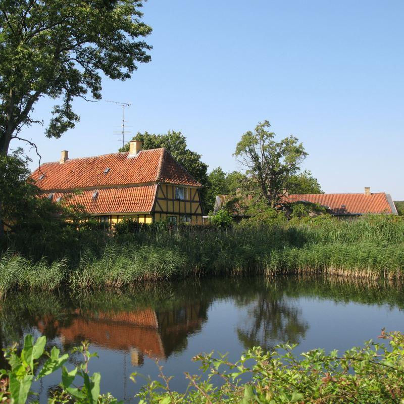 Slotsbyen Tranekær huset Lygten