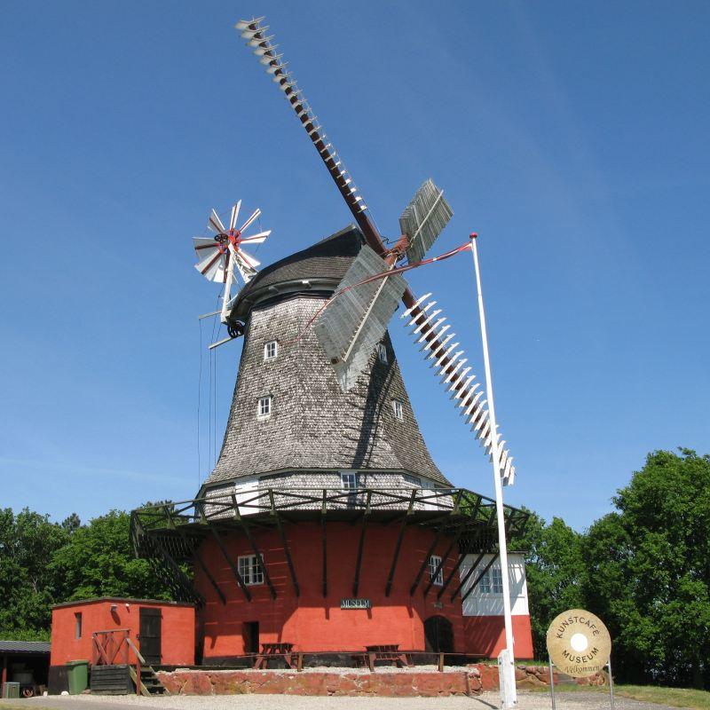 Historie om om vindmøller