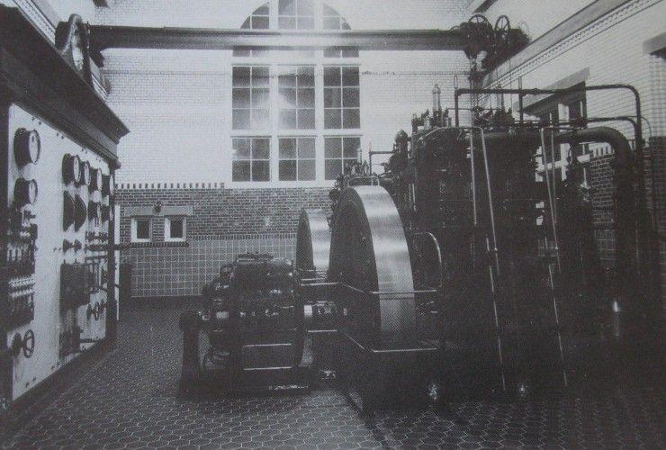 Rudkøbing Elektricitetsværk 1911