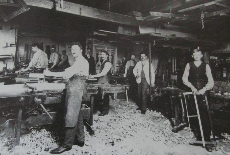 snedkermester_friis_hansen_smedegade_rudkobing_1911